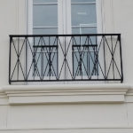 Stylized Faux Balcony
