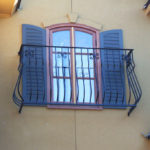 Faux Balcony Window