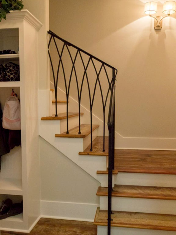 Simple Staircase Rails