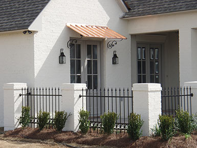 Deep South Iron Awnings And Accents